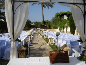 Decora tu ceremonia civil como una wedding planner