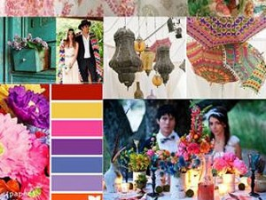 Wedding Trends para el 2013. Estilo boho-chic